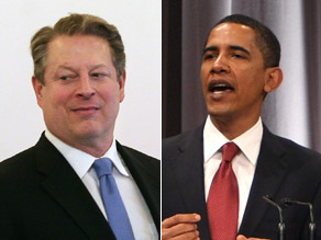 Obama said Wednesday he wants Gore for his administration.
