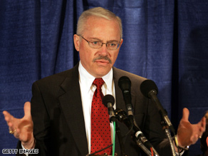 Bob Barr has clashed with his former party over policy.