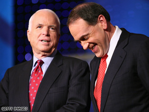 McCain and Huckabee maintained a mostly-friendly relationship on the trail.