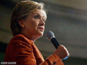 Sen. Hillary Clinton says West Virginia is a test for her and Sen. Barack Obama.