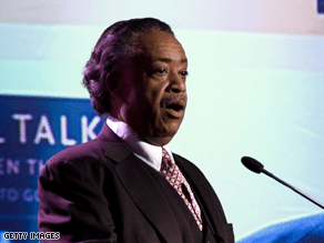 Sharpton says it's time for Clinton to quit.