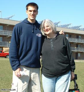 Nick and Tracy Miller before his deployment to Iraq