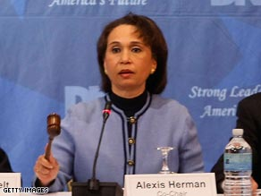 Democratic National Committee member Alexis Herman.