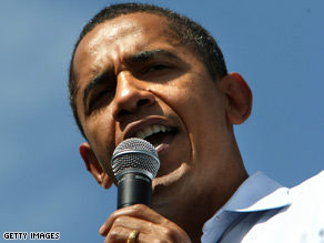 Obama's campaign sees Virginia as a 'pivotal' state.