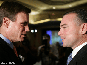 Warner and Kaine are set to campaign with Obama Thursday.
