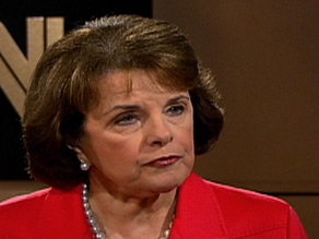Sen. Dianne Feinstein hosted a private meeting for Barack Obama and Hillary Clinton.