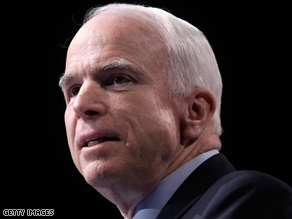 Sen. John McCain has called for ten joint appearances before the Democratic Convention in August.