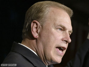 Ohio Governor Ted Strickland.