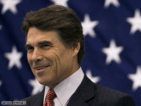 Rick Perry will be on The Situation Room Tuesday.