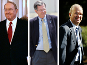 James Dobson         Charlie Black             Karl Rove