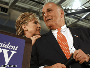 Rendell says it may be time for Bill Clinton to move on.