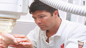 Dr. Anthony Galea has treated a number of different athletes, including Tiger Woods in his recovery of a knee injury.