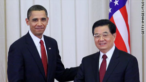 President Obama and Chinese President Hu Jintao vowed action on climate change last week.