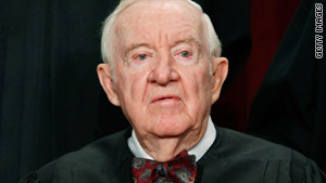 The Supreme Court announced Friday that Justice John Paul Stevens will retire.
