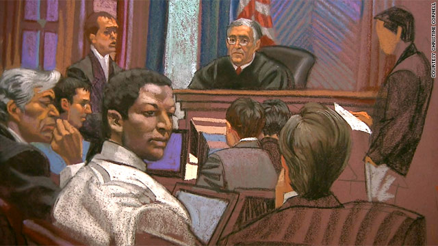 Ahmed Khalfan Ghailani was convicted of one charge in connection with 1998 U.S. Embassy bombings in Kenya, Tanzania.