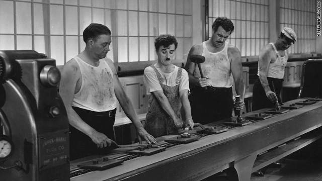 The Struggles Of A Worker Played By Charlie Chaplin In Modern Times Seem All