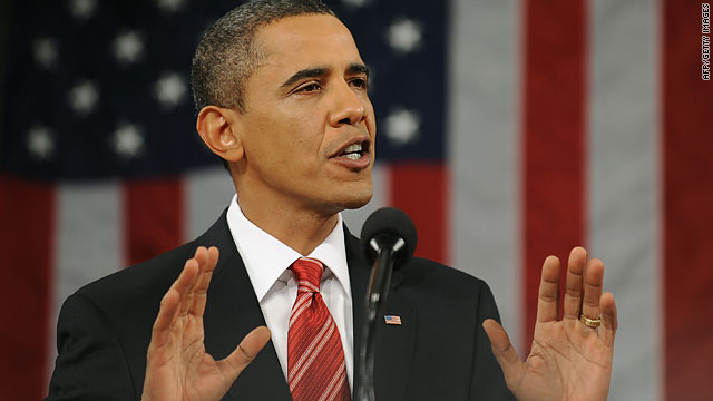 One analyst says Obama's State of the Union speech was positive and optimistic, with a serious overtone.