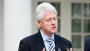 Former President Bill Clinton will speak with Anderson Cooper about Haiti recovery efforts on Monday