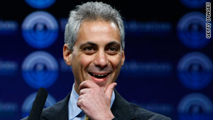 Rahm Emanuel is a former congressman from Illinois and President Obama's chief of staff.
