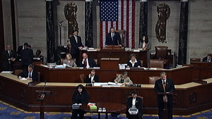 The House passed the bill in a 219-212 vote on Sunday.