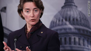 """""""This bill will bring 100 percent transparency to a currently unregulated, dark market,"""" Sen. Blanche Lincoln said."""
