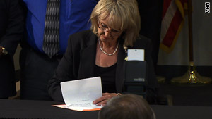 The new law comes less than a month after Arizona Gov. Jan Brewer signed a controversial immigration law.