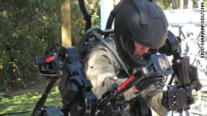 Raytheon is designing in real life what comic books and Hollywood have promised for years, a real life Iron Man-like suit.