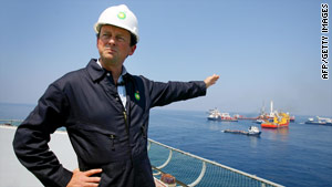 BP CEO Tony Hayward apologized Wednesday for comments he made about wanting his life back.