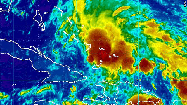 Several forecast models show the system heading for the Gulf of Mexico