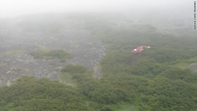 The DeHavilland DHC-Z3T Otter carrying former Sen. Ted Stevens and eight others crashed into the side of the mountain