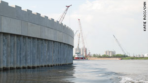 The Army Corps of Engineers says improved walls, levees are much stronger than when Hurricane Katrina hit.
