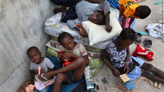 Children recently orphaned by Haiti's earthquake could be targeted for organ trafficking, Haiti's prime minister says.