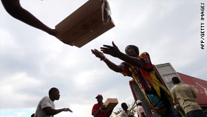 WFP has provided emergency food assistance to more than two million Haitians since the January 12 earthquake.