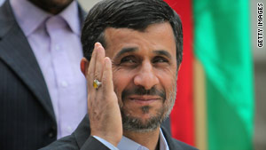 Iranian President Mahmoud Ahmadinejad calls for cooperation  between the Islamic republic and the United States.