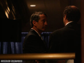 Sanford was spotted at CPAC Saturday afternoon.