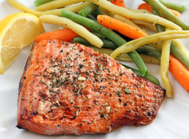 Image result for eating healthy bake fish