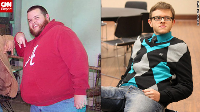 Will Nevin, 25, shed 175 pounds during 11 months, willing to do anything, except face his anxiety about visiting the doctor.