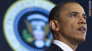 President Obama  announced his re-election campaign early Monday via an online video.