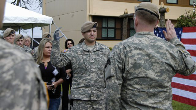 Army Ranger Receives Medal Of Honor For Afghanistan