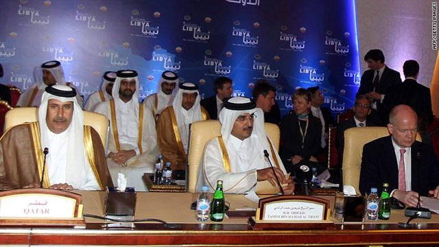 Delegates from Arab and African nations, as well as NATO, met at a summit in Qatar on Wednesday.