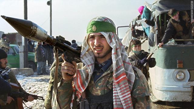 Los rebeldes de Chechenia comenzó a luchar por la independencia en la década de 1990, pero la lucha se ha convertido en más orientado a imponer el gobierno islámico.