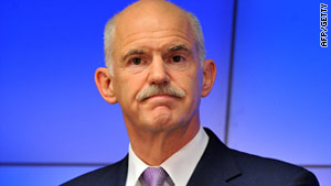 Prime Minister George Papandreou is expected to announce more austerity measures.