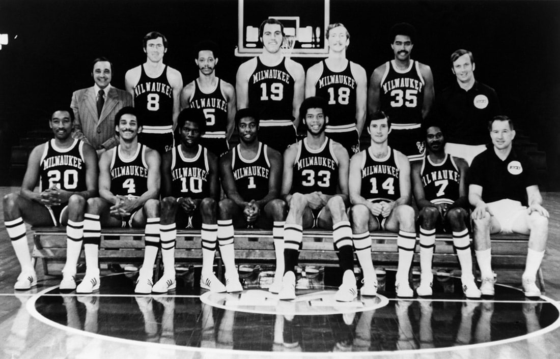Image result for milwaukee bucks 1971