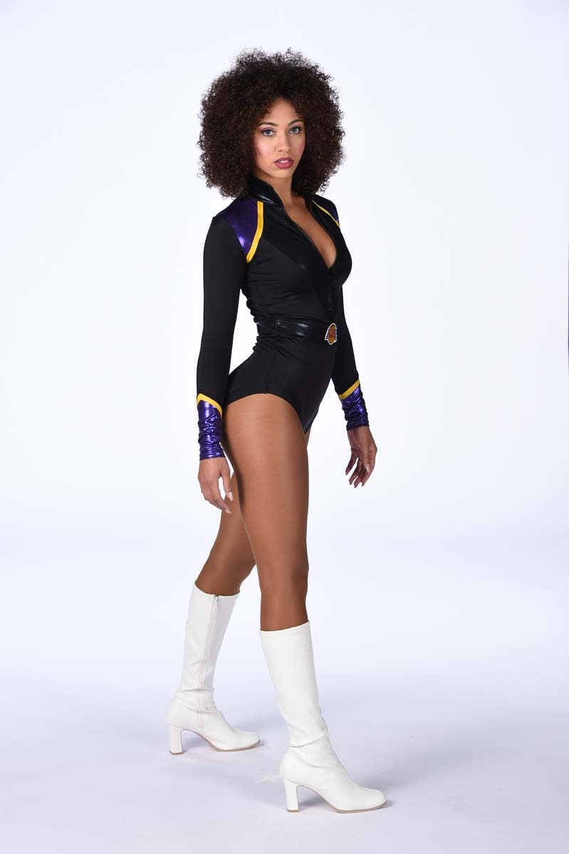 1718 Laker Girls  Makayla  Los Angeles Lakers
