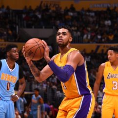 Denver Sofascore Sectional Sofa San Diego 2017 Player Capsule D 39angelo Russell Los Angeles Lakers