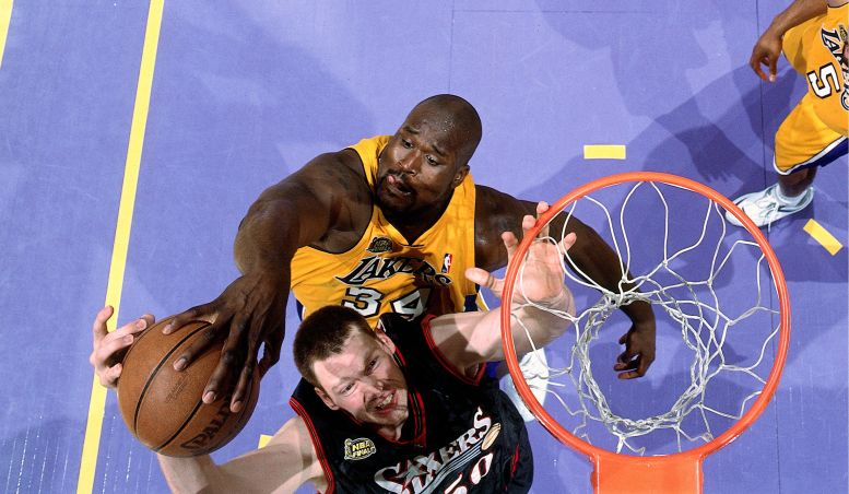 shaq,nba,sixers,lakers,finals,nba finals