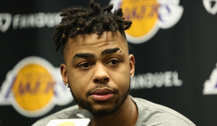 Image result for d' angelo russell 2017