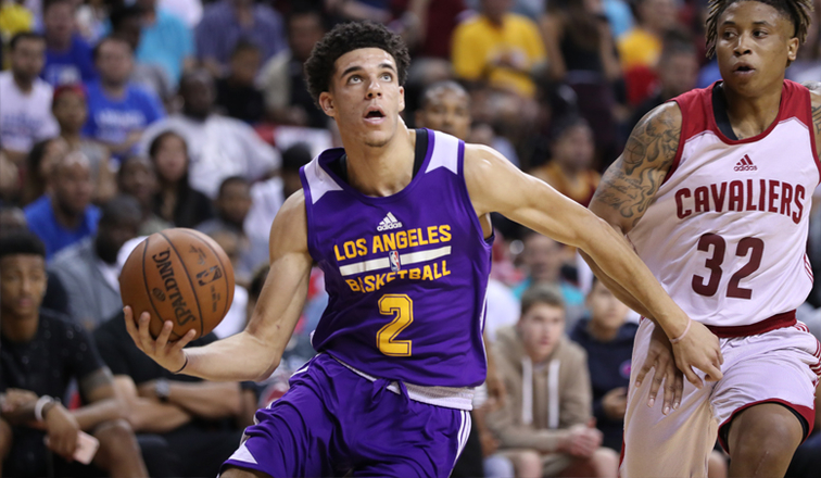 Image result for lonzo ball summer league