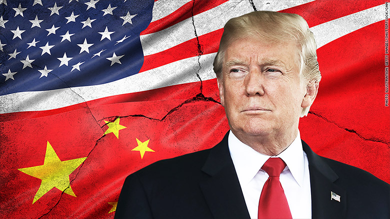 Image result for Trump threatens China with new $100 billion tariff plan