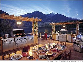viking outdoor kitchen shelves 5 killer kitchens s 1 cnnmoney com